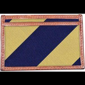 Clarkson Stripe Card Wallet